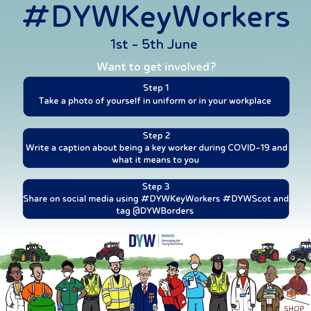 How to get involved in the DYW KeyWorkers Campaign.